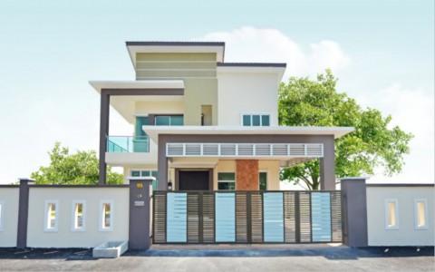 Bungalow house @ Taman Tawas