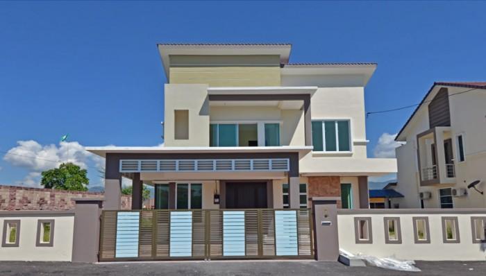 2 units double storey bungalows at Taman Tawas Jaya
